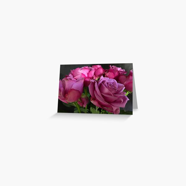 Pink Chiffon Greeting Card