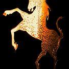 Golden Unicorn by Dawn B Davies-McIninch