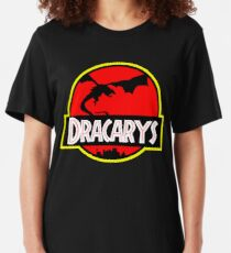 Jurassic Dracarys Slim Fit T-Shirt