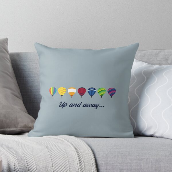 Simplee The Best: Up and Away - Pillow Throw Pillow