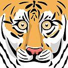 Tiger Face by elledeegee