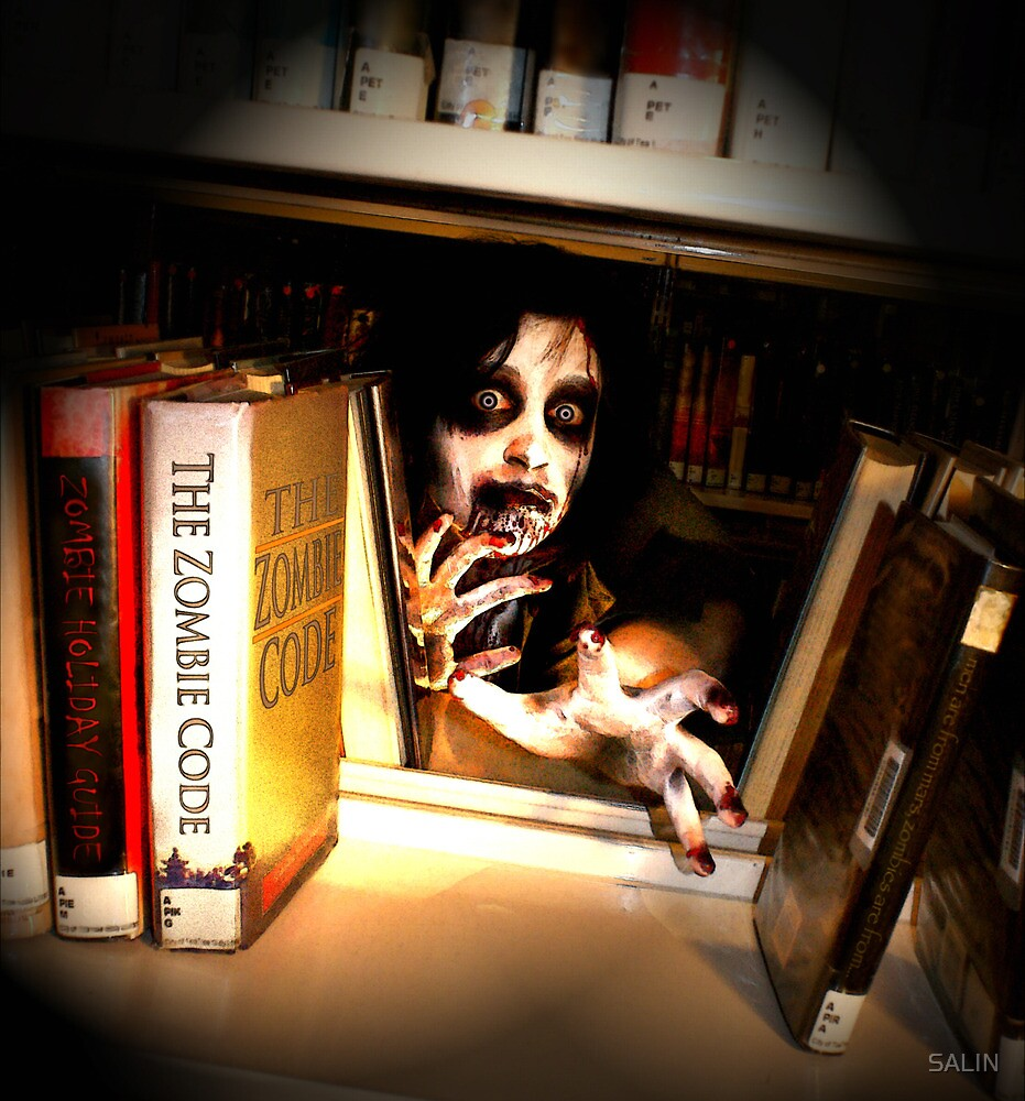 Peekabook Zombie by SALIN