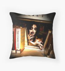 Peekabook Zombie Throw Pillow