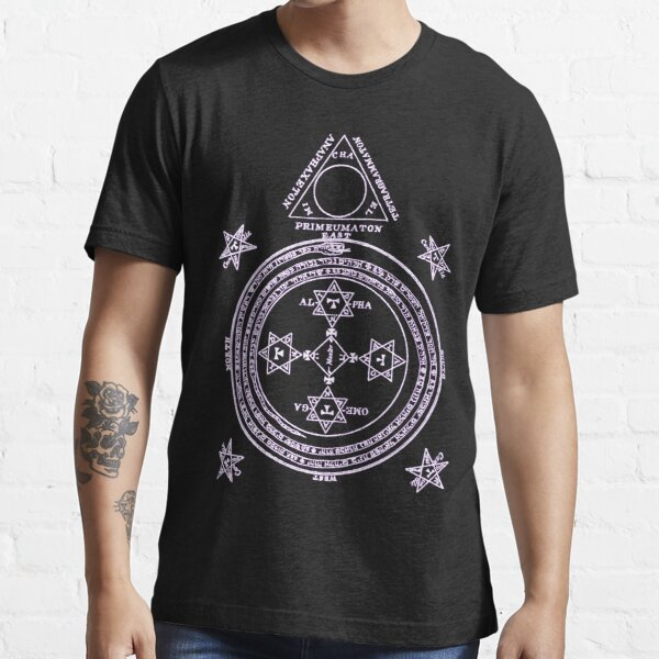 Magical Circle of King Solomon INVERTED Essential T-Shirt