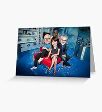 The Gadget Show Greeting Card