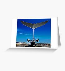 Tall Tail End - CL-604 Challenger Greeting Card