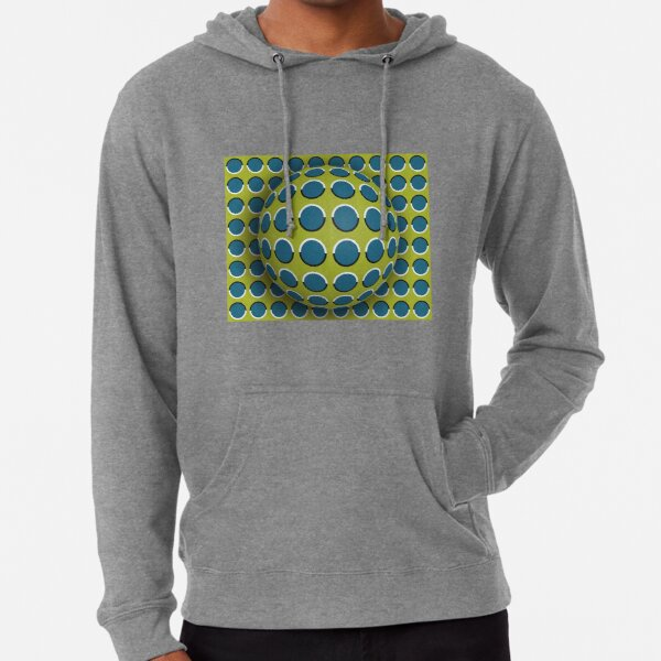 How Do #Optical #Illusions Work? #OpArt #VisualIllusion Lightweight Hoodie
