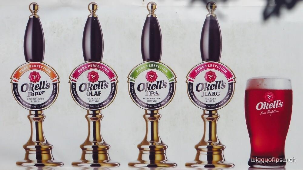 Okell's Beers, Isle Of Man by wiggyofipswich