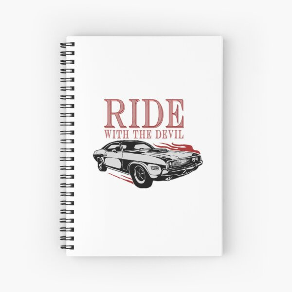 Ride With The Devil Spiral Notebook