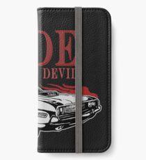 Ride With The Devil iPhone Flip-Case/Hülle/Klebefolie