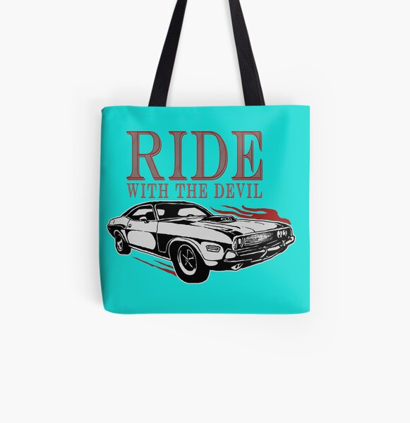 Ride With The Devil All Over Print Tote Bag