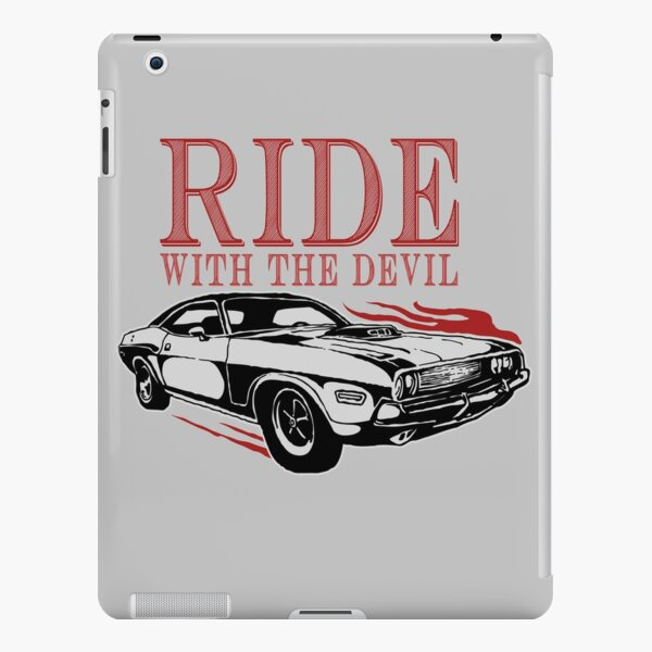 Ride With The Devil iPad Snap Case