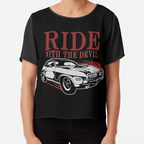 Ride With The Devil Chiffon Top