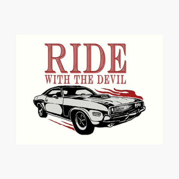 Ride With The Devil Art Print