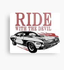 Ride With The Devil Metallbild