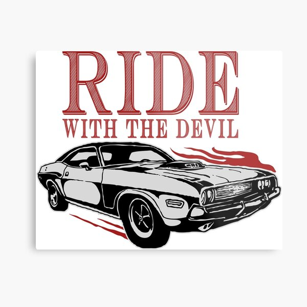 Ride With The Devil Metal Print