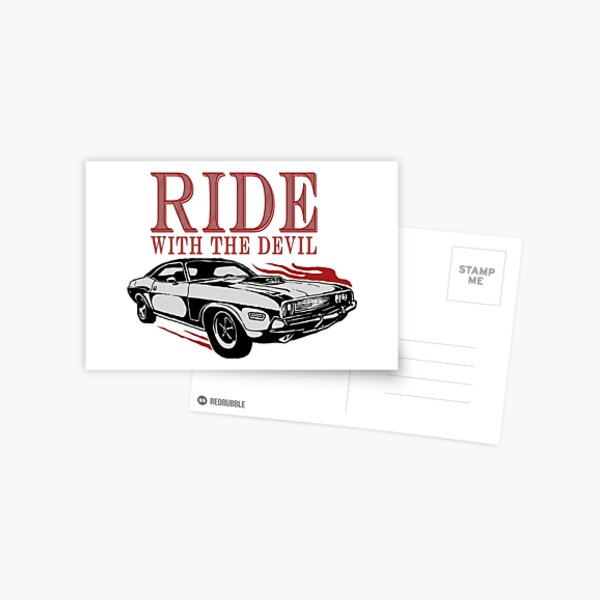 Ride With The Devil Postcard