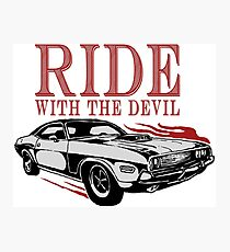 Ride With The Devil Fotodruck