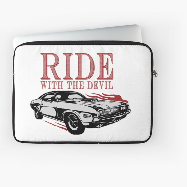 Ride With The Devil Laptop Sleeve