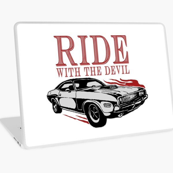 Ride With The Devil Laptop Skin