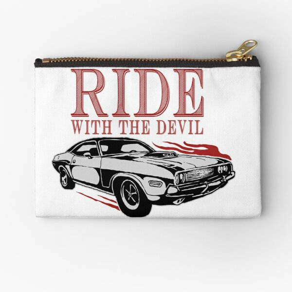 Ride With The Devil Zipper Pouch