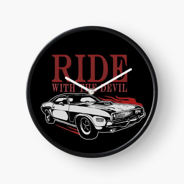 Ride With The Devil Clock