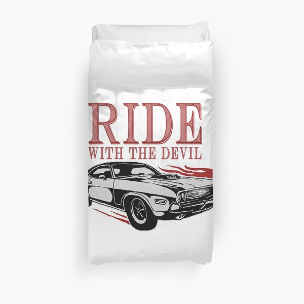 Ride With The Devil Duvet Cover