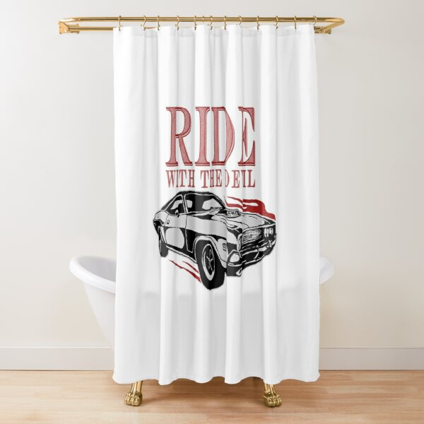 Ride With The Devil Shower Curtain