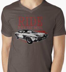 Ride With The Devil T-Shirt mit V-Ausschnitt
