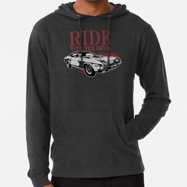 Ride With The Devil Lightweight Hoodie
