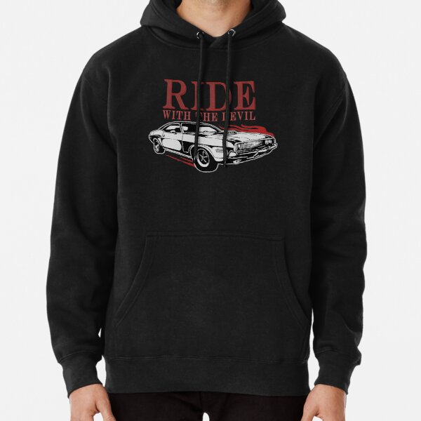 Ride With The Devil Pullover Hoodie
