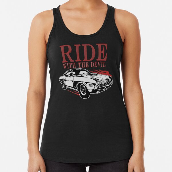 Ride With The Devil Racerback Tank Top