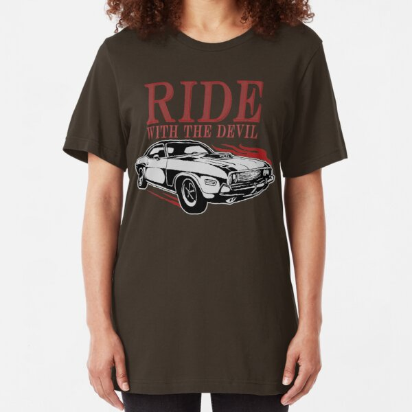 Ride With The Devil Slim Fit T-Shirt