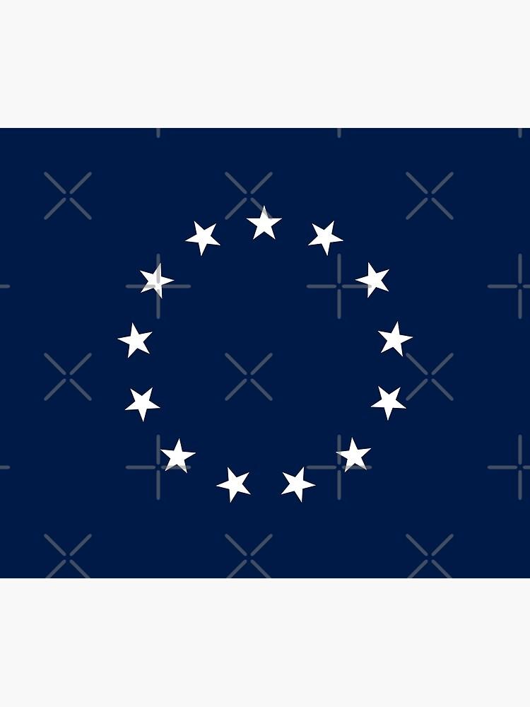 13 Stars Patriotic Circle by hobrath
