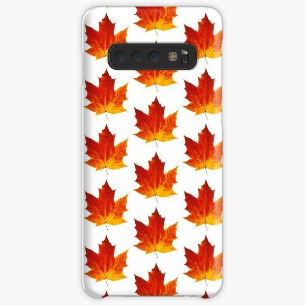 Autumn maple leaf Samsung Galaxy Snap Case