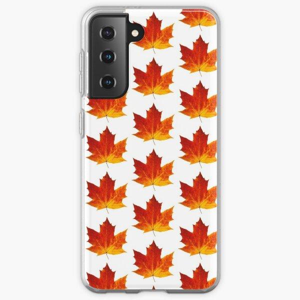Autumn maple leaf Samsung Galaxy Soft Case