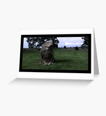 Monolith Greeting Card