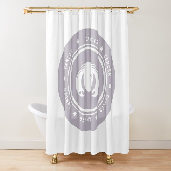 Cancer - Light Shower Curtain