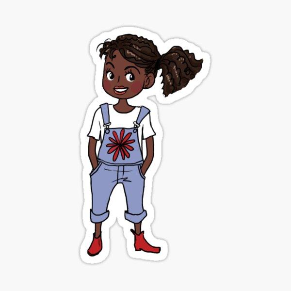 Flourish character Sticker
