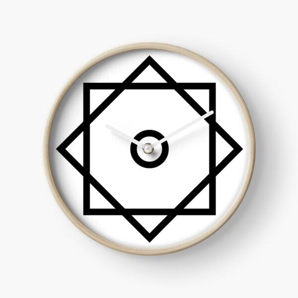 Arabic Star of Rub El Hizb ۞ Logo Faith no More Clock