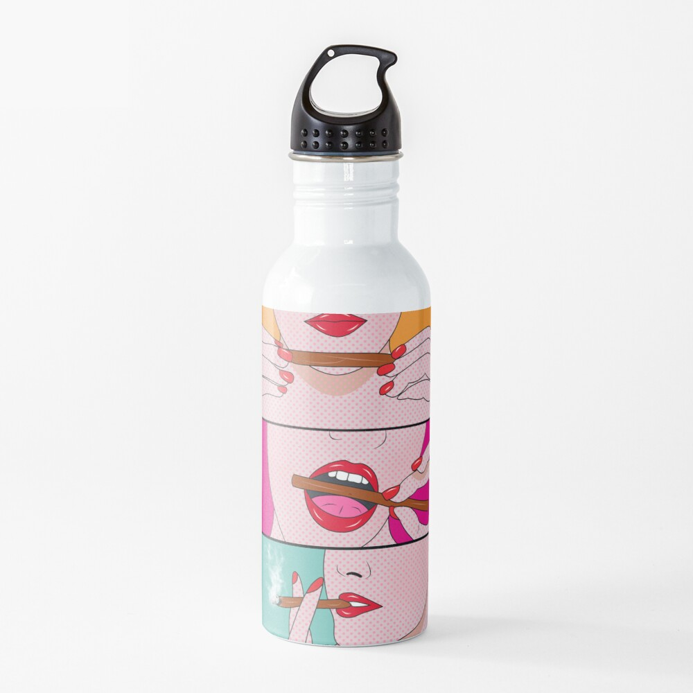 weed lady  Water Bottle