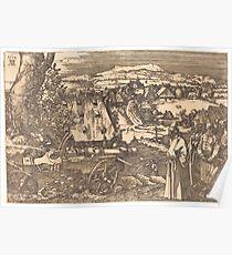 Albrecht Dürer or Durer Landscape with the Cannon Poster