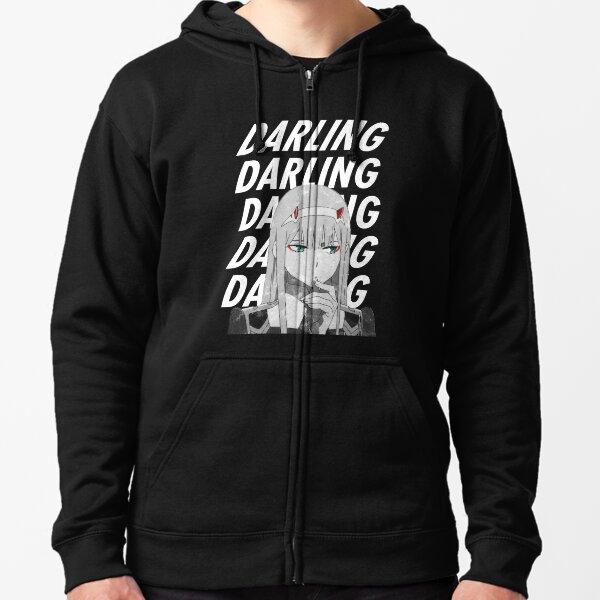 """Zero Two """"Darling"""" Darling dans le FranXX Veste zippée à capuche"""