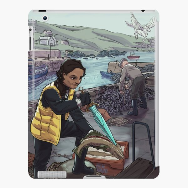 Valkyrie in New Asgard iPad Snap Case