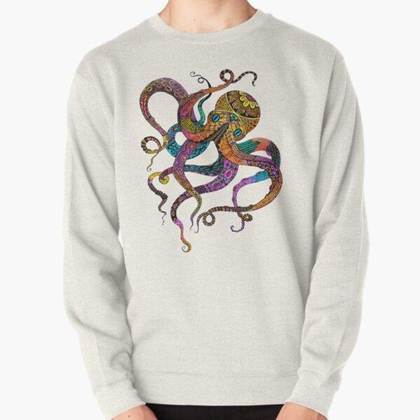 Electric Octopus Pullover Sweatshirt