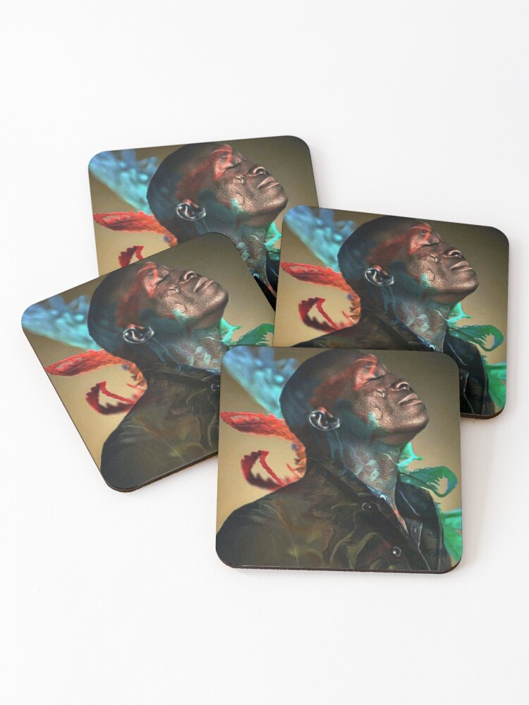 """""""Seal singer"""" Coasters (Set of 4) by LaurenceS06 