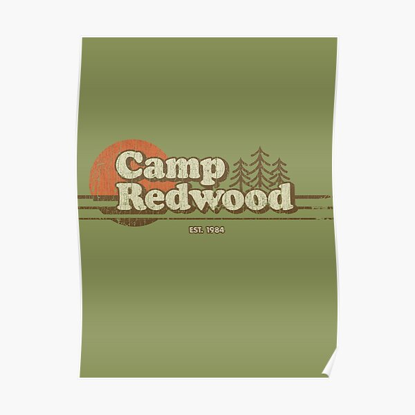 Camp Redwood 1984 Poster