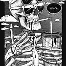 «Esqueleto de ruido» de Garyck Arntzen
