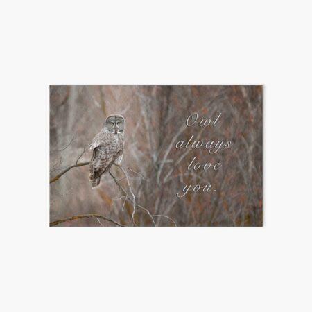 Owl Always Love You. Art Board Print