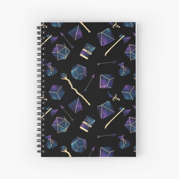 Dice & Damage Spiral Notebook